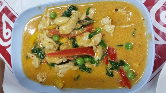 Mit Samui Restaurant: Red curry.. really thai