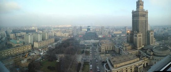 InterContinental Warszawa : Panoramic View From Room
