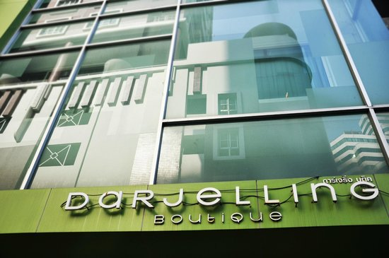 Darjelling Boutique : The look from outside.