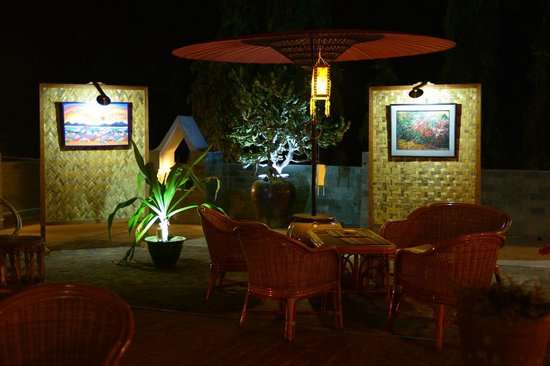 Restaurant Trattoria - La Terrasse : A place to relax and taste.