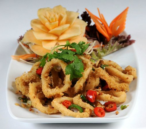 Tiien Thai Crispy Squid