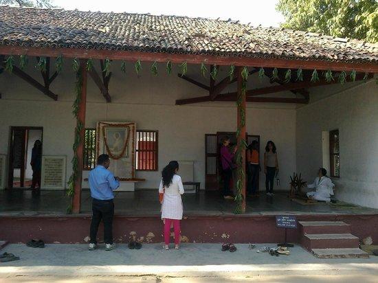 Sabarmati Ashram / Mahatma Gandhi's Home: Gandhiji's House at Sabarmati Ashram, Ahmedabad