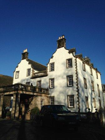 Prestonfield: The Entrance