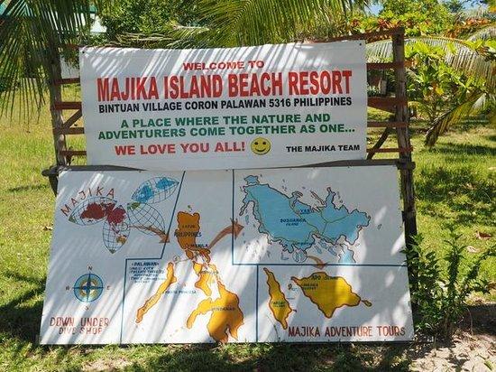 Majika's Island Resort : You are here :-)