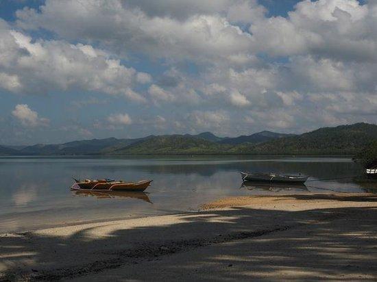 Majika's Island Resort : View from beach