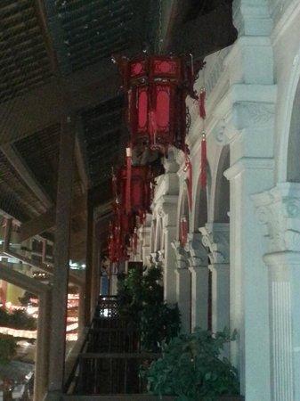 Santa Grand Hotel Lai Chun Yuen: Balcony