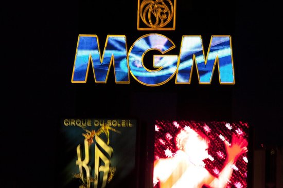 MGM Grand Hotel and Casino : Hotel Sign