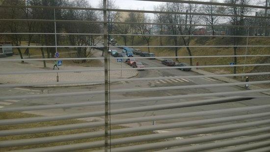 Fortuna Hostel: Вид из окна на втором этаже