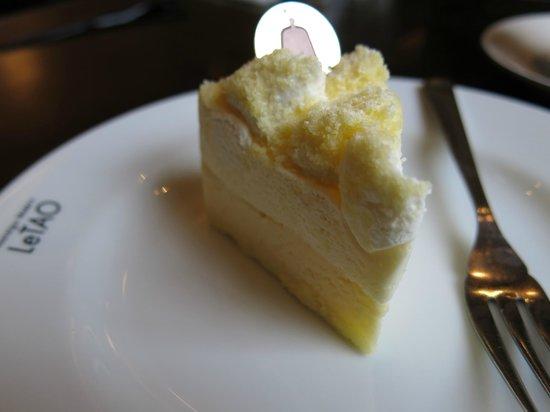 LeTAO Le chocoLat: Cheesecake
