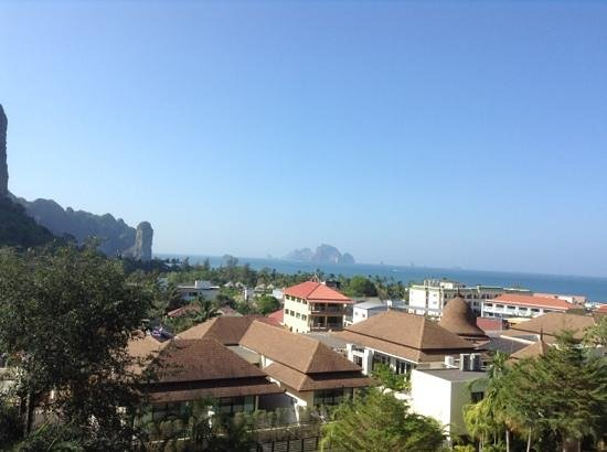 Aonang Cliff Beach Resort: view from room 3204