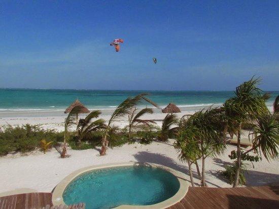 Zanzibar White Sand Luxury Villas & Spa: View from the rooftop
