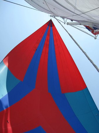 Samui Ocean Sports & Yacht Charter - Day Tours: Sailing with the spinnaker