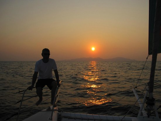 Samui Ocean Sports & Yacht Charter: Sunset