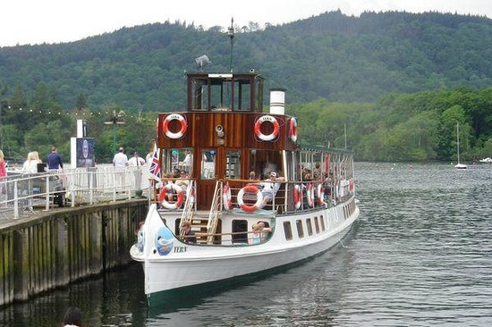 Bowness-on-Windermere, UK: The Tern at the Bowness Pier