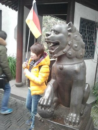 Shanghai Pathways-Private One-day and Walking Tours: Our friendly Tour Guide Mary