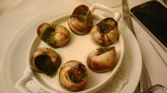 la flambée : escargots
