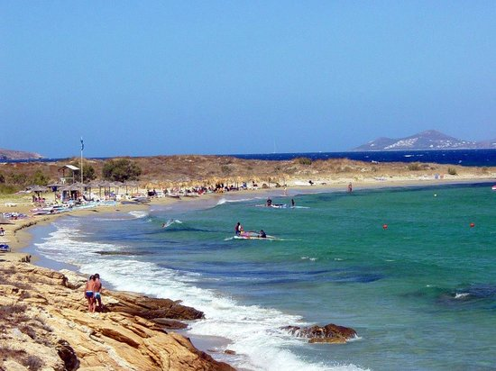 Marpissa, Greece: New Golden beach - Paros