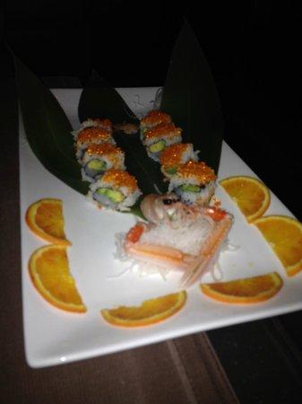 Sakura : Scampo e uova di pesce volante!