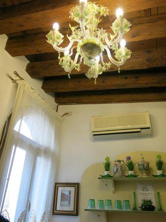 Residenza Laguna: Im Frühstückszimmer