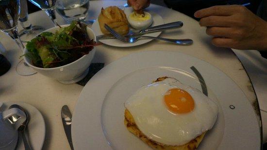 Cafe Beaubourg : Croque Madame