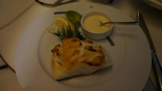 Cafe Beaubourg : Grilled Cod Fish with mash potatoes