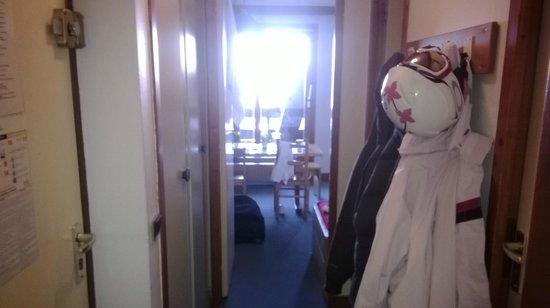 Résidence-Club Odalys Le Hameau du Mottaret : Corridoio