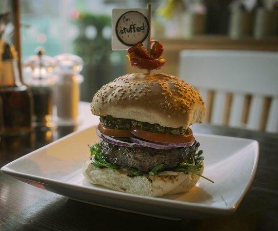 Handmade Burger Co: Stuffed Burger