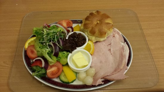 The Old Bakery Tearoom: Ploughman's Lunch with Ham