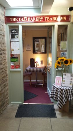 The Old Bakery Tearoom: Welcoming Entrance