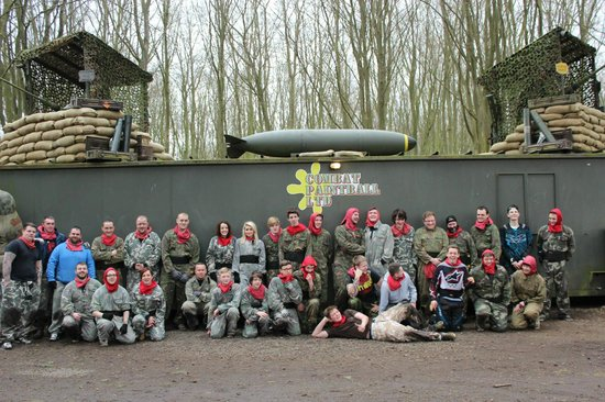 Combat Paintball Ltd: the red team for the day