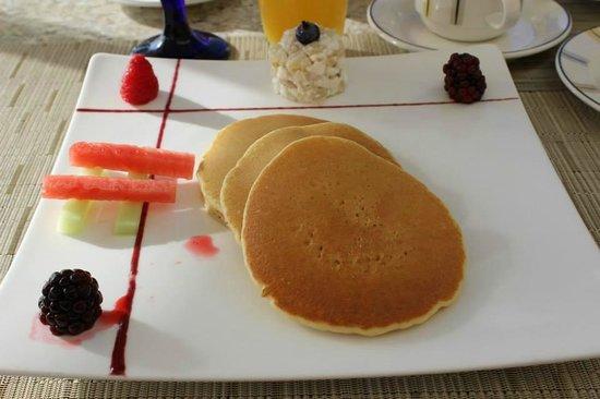 Grand Velas Riviera Maya: Pancakes at Bistro