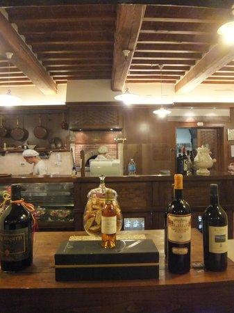 Ristorante Antica Pieve: at work