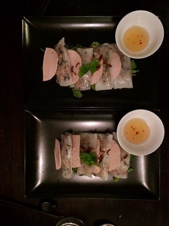 Le Bistrot d'Indochine : Bánh cuốn