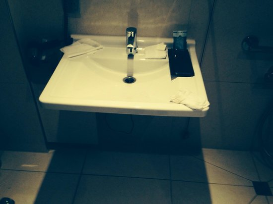 Radisson Blu Hotel, Hamburg: Horrible bathroom