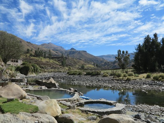 Colca Lodge Spa & Hot Springs - Hotel: Baños termales