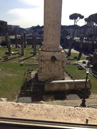 Mercati di Traiano - Museo dei Fori Imperiali : i fori..