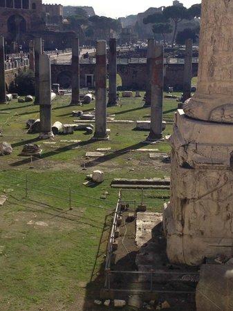 Mercati di Traiano - Museo dei Fori Imperiali : che veduta !!