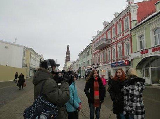 Dom Chaya: Дети интервью давали рядом с кафе:)