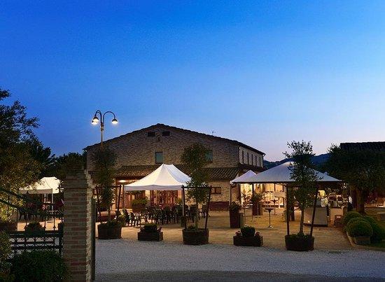 Serra de' Conti, Italy: Villa Honorata 1793 - esterno