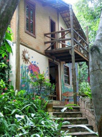Pousada Vila Serrano: Villa Serrano Haupthaus Eingang