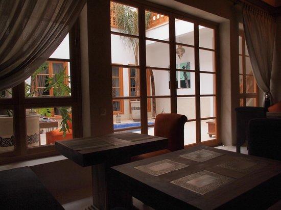Riad Tahili & Spa : Dinning room