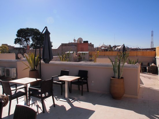 Riad Tahili & Spa : Rooftop