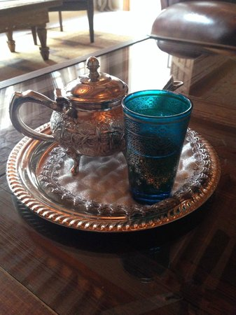 Riad Tahili & Spa: Mint tea
