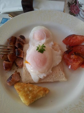 Belvedere Lodge: Small breakfast