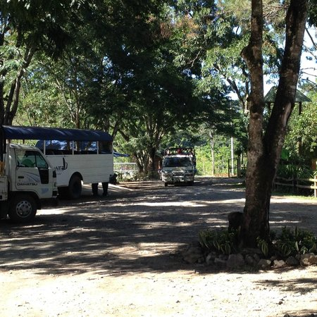 Rancho Baiguate: salida a tours