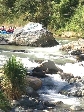 Rancho Baiguate: rio