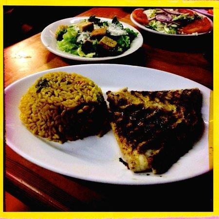 Garcia Seafood Grille: Grilled Grouper