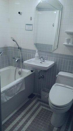 Hotel Monterey Ginza: 很有設計感的浴室