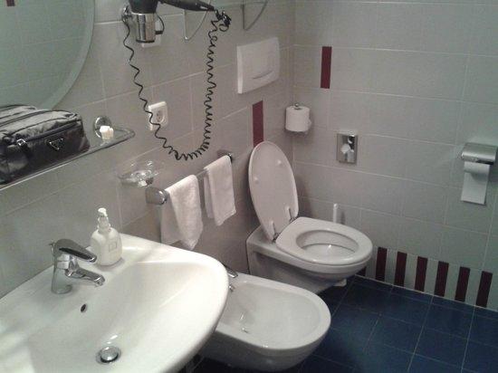 Hotel Dolomitenblick: bagnetto della camera 103