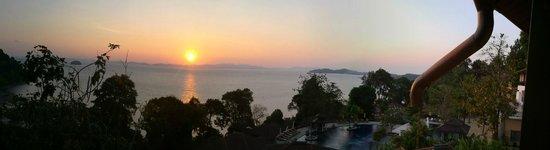 Supalai Resort & Spa Phuket: sun set from the room